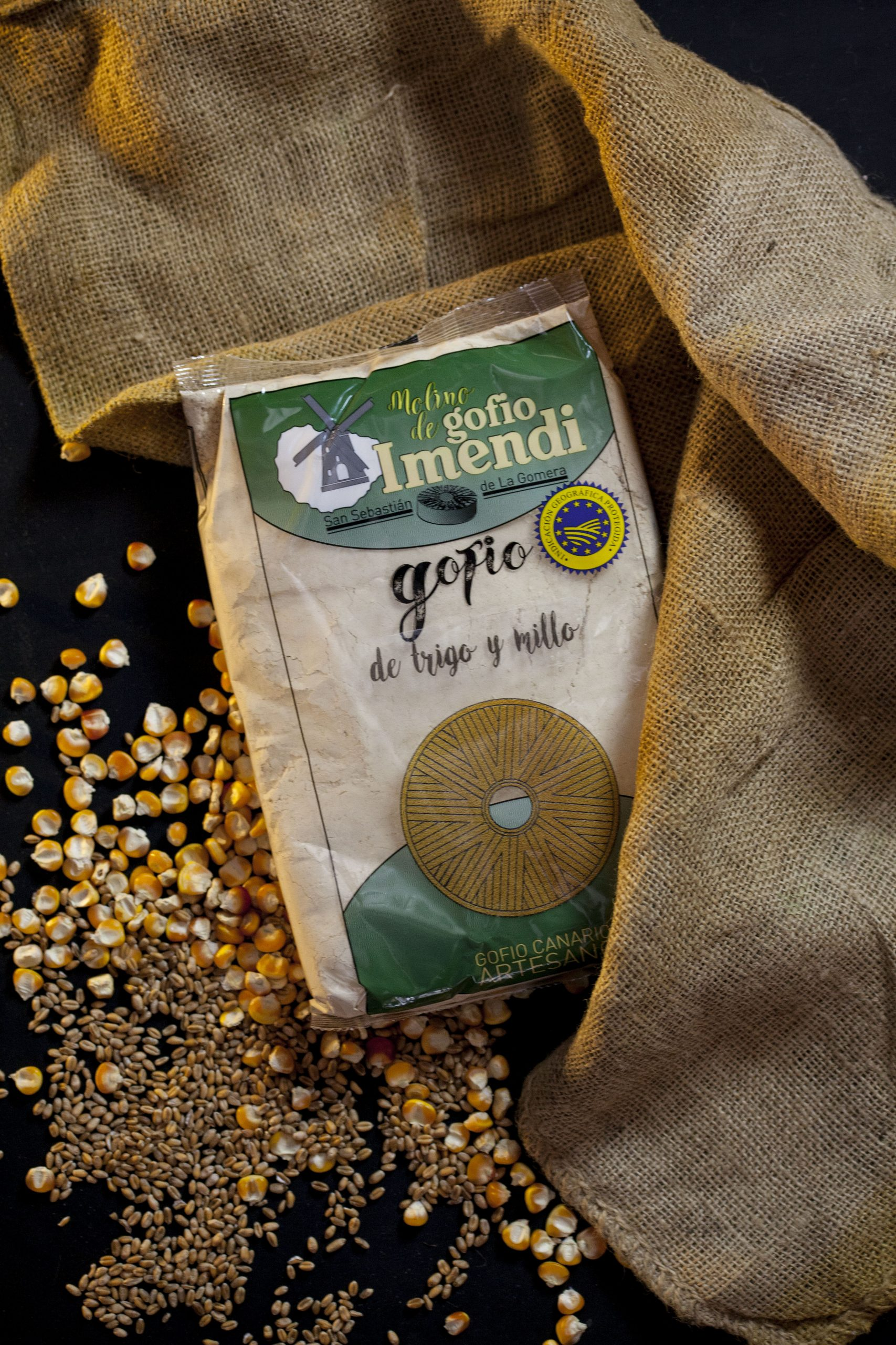Gofio de trigo y millo